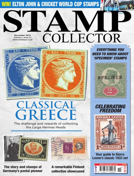 Stamp Collector October 11, 2019 00:00