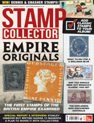 Stamp Collector August 2021