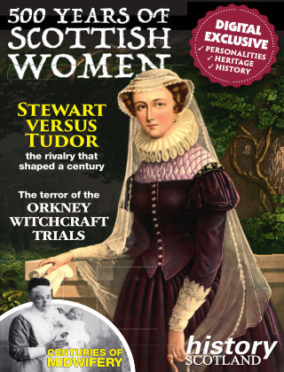 500 Years of Scottish Women Issue 1