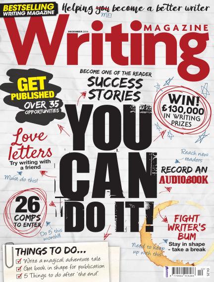 Writing Magazine November 01, 2018 00:00