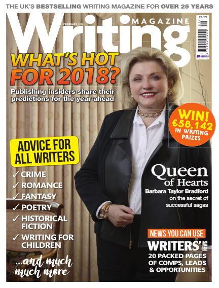 Writing Magazine January 04, 2018 00:00