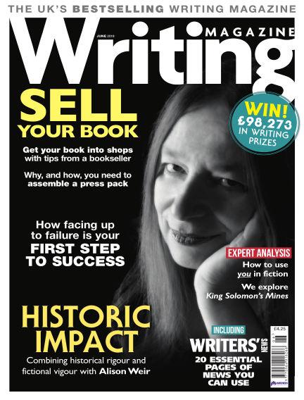 Writing Magazine May 03, 2018 00:00