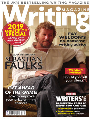 Writing Magazine Oct 2018