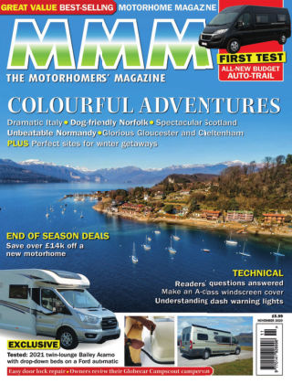 The Motorhomers' Magazine – MMM November 2020