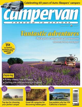 Campervan Magazine August 2021