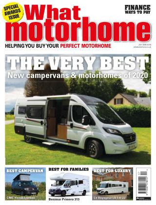 What Motorhome Magazine July 2020
