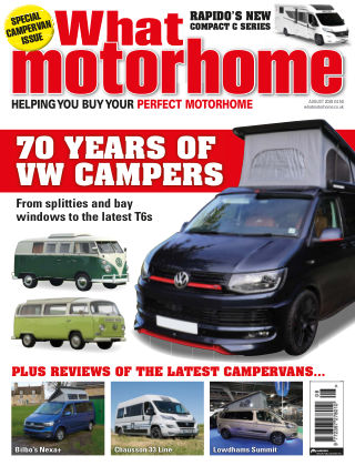 What Motorhome Magazine August 2020