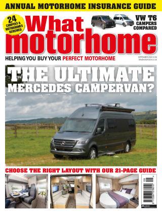 What Motorhome Magazine September 2020