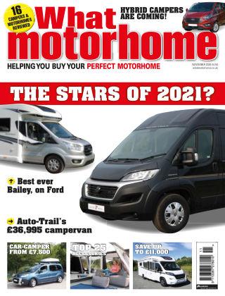 What Motorhome Magazine November 2020