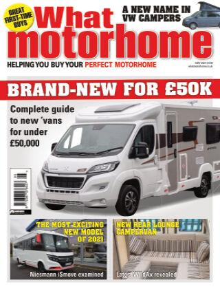 What Motorhome Magazine May 2021