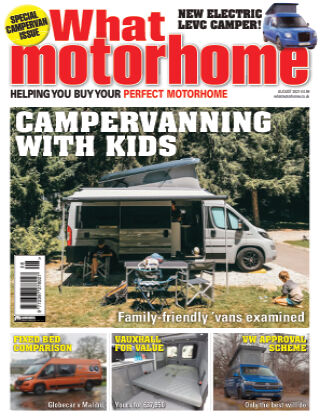 What Motorhome Magazine August 2021