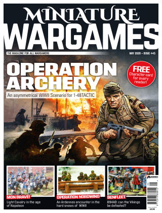 Miniature Wargames ISSUE445
