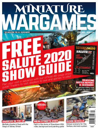 Miniature Wargames ISSUE444