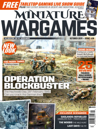 Miniature Wargames ISSUE438