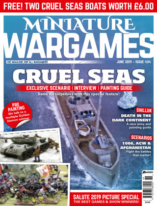 Miniature Wargames ISSUE434
