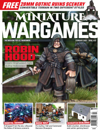 Miniature Wargames ISSUE442