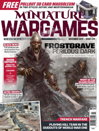 Miniature Wargames ISSUE439