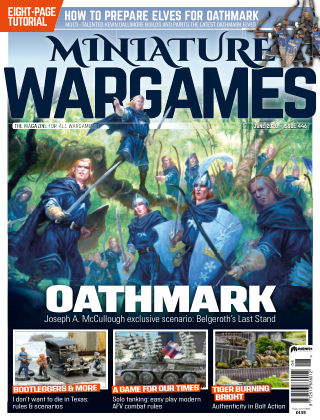 Miniature Wargames ISSUE446