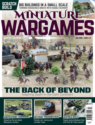 Miniature Wargames ISSUE447