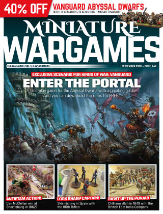 Miniature Wargames ISSUE449