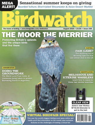 Birdwatch ISSUE338AUGUST2020