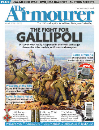 The Armourer MARCH2020
