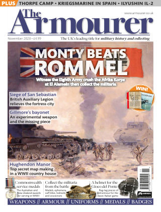 The Armourer NOVEMBER2020