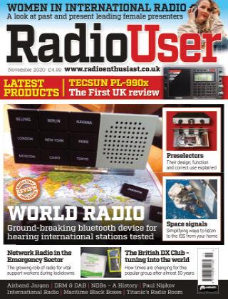 Radio User NOVEMBER2020