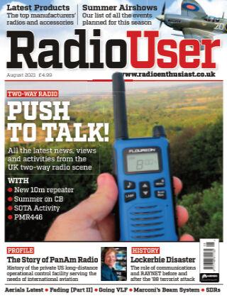 Radio User AUGUST2021