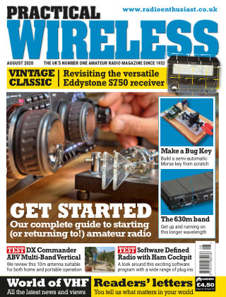 Practical Wireless AUGUST 2020
