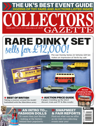 Collectors Gazette ISSUE430JANUARY2020