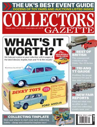 Collectors Gazette ISSUE431FEB20