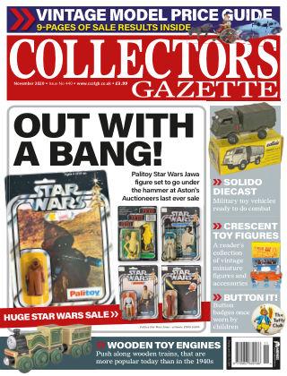 Collectors Gazette ISSUE440NOVEMBER2020