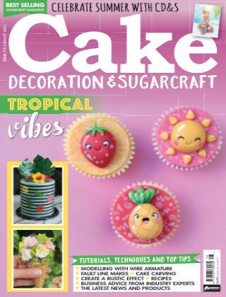 Cake Decoration & Sugarcraft August 2021