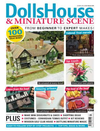 Dolls House & Miniature Scene July 2020