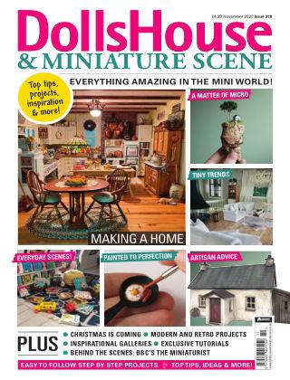 Dolls House & Miniature Scene November 2020