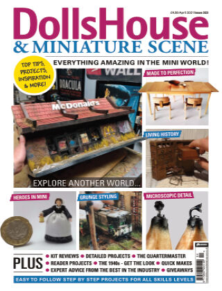 Dolls House & Miniature Scene April 2021
