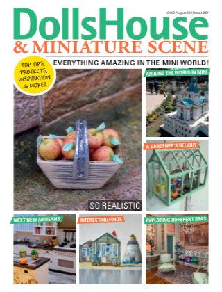 Dolls House & Miniature Scene August 2021