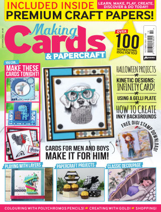 Making Cards & Papercraft October 2020