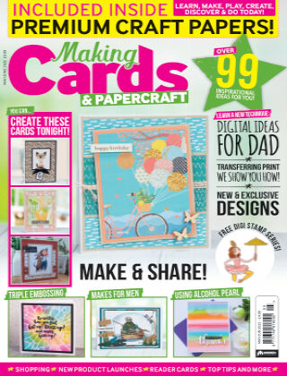 Making Cards & Papercraft June 2021