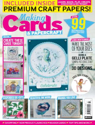 Making Cards & Papercraft JulyAugust 2021