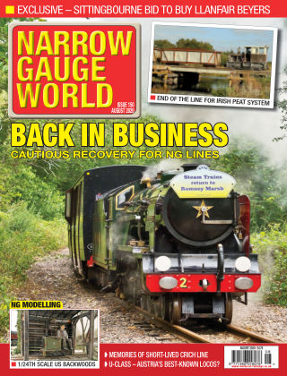 Narrow Gauge World AUG 2020