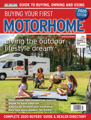 Buying Your First Motorhome 2020