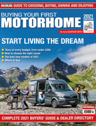 Buying Your First Motorhome 2021