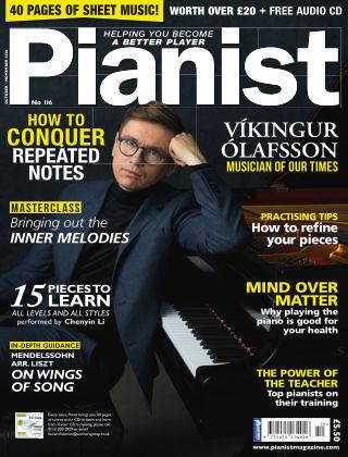 Pianist Magazine Pianist 116