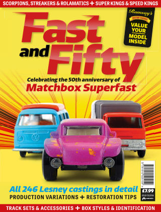 Diecast Model Special Editions Fast & Fifty