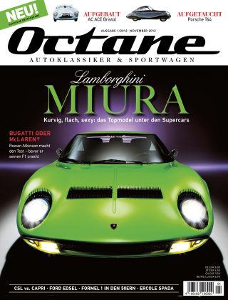 OCTANE - Das Magazin für Autoklassiker & Sportwagen Ausgabe 01