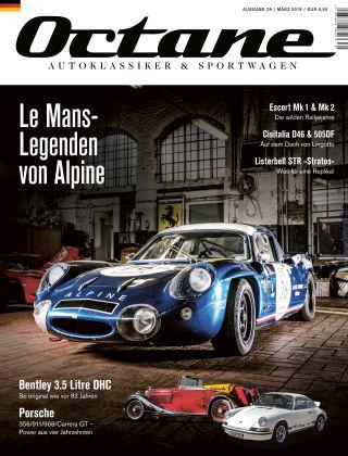 OCTANE - Das Magazin für Autoklassiker & Sportwagen Ausgabe 39