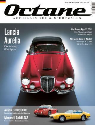 OCTANE - Das Magazin für Autoklassiker & Sportwagen Ausgabe 38