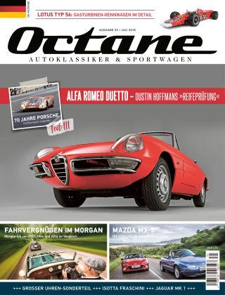 OCTANE - Das Magazin für Autoklassiker & Sportwagen Ausgabe 35
